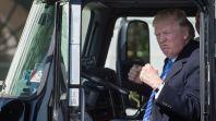 Donald Trump trailer park presidential library Florida Briny Breezes