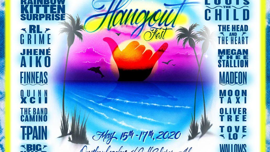 Hangout Music Fest 2020 lineup