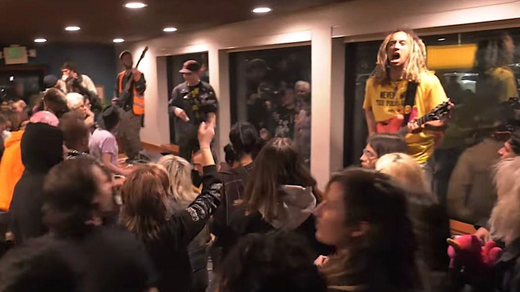 Hardcore show at Dennys
