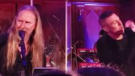 Jerry Cantrell performs with Greg Puciato