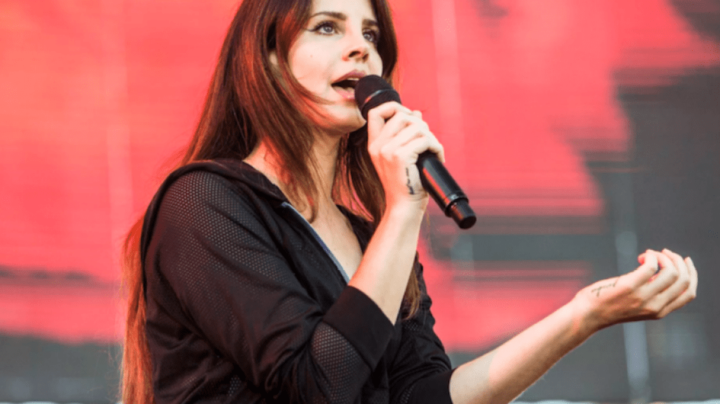 "Lana Del Rey new spoken word album ""freestyle poetry"" 2020, photo by Philip Cosores"