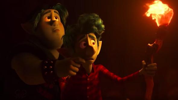 Onward New Trailer Pixar Disney Chris Pratt Tom Holland Elf Elves