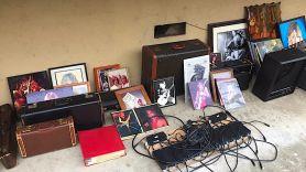 Randy Rhoads Recovered Items