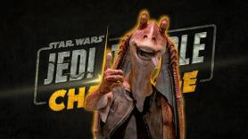 Star Wars Jedi Temple Challene Disney Plus Jar Jar Binks Ahmed Best