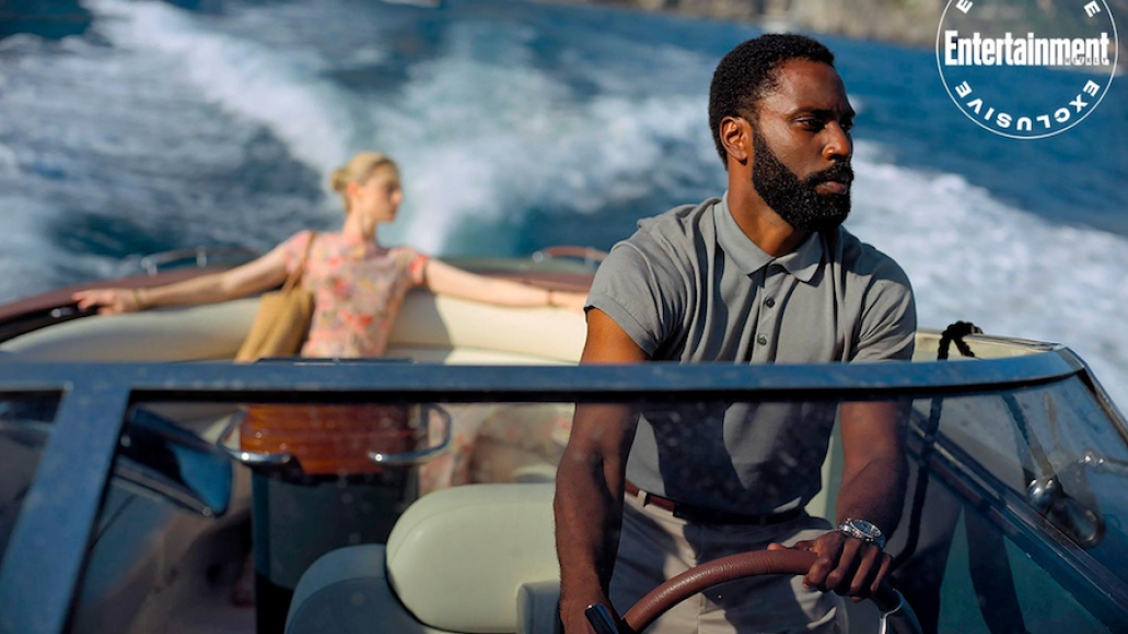 Tenet Christopher Nolan First Look John David Washington Elizabeth Debicki