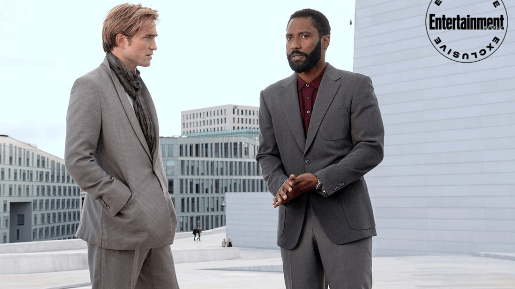 Tenet Christopher Nolan First Look John David Washington Robert Pattinson Full