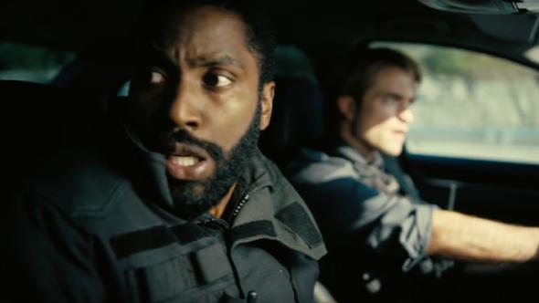 Tenet Christopher Nolan First Look John David Washington Robert Pattinson trailer movie