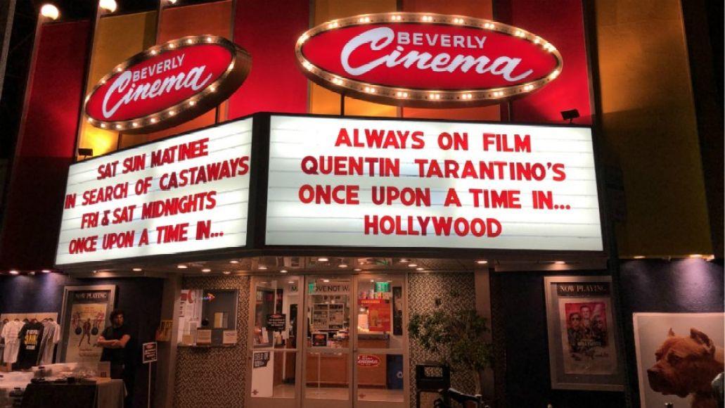 Los Angeles, Quentin Tarantino, New Beverly Cinema