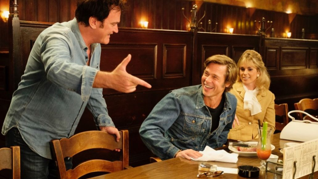 Quentin Tarantino, Brad Pitt, Once Upon a Time in... Hollywood