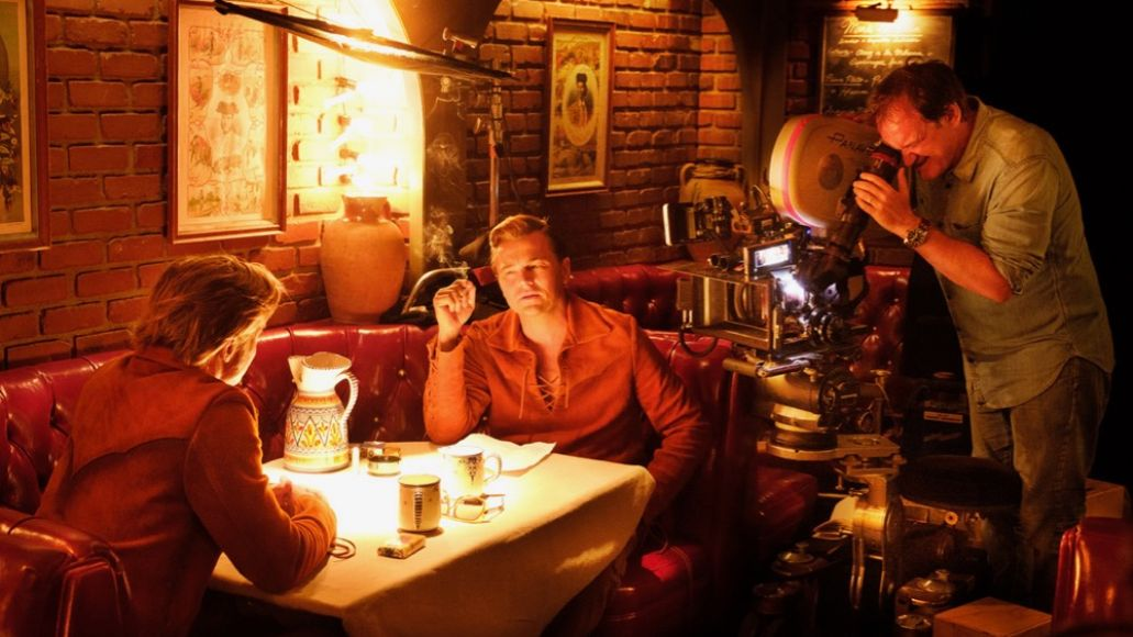 Leonardo DiCaprio, Brad Pitt, Quentin Tarantino, Once Upon a Time... in Hollywood