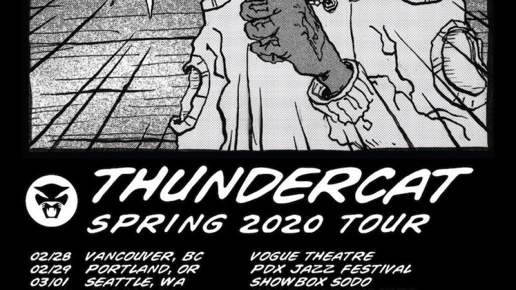 thundercat 2020 tour spring Thundercat plots 2020 North American tour