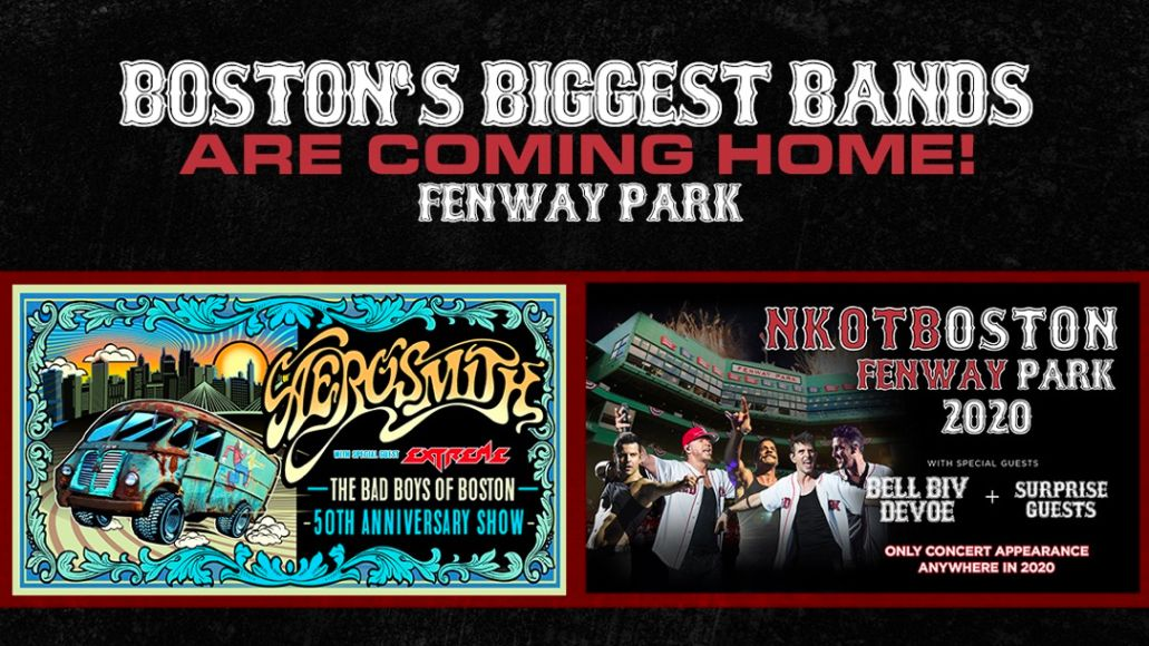 Aerosmith and NKOTB Boston shows