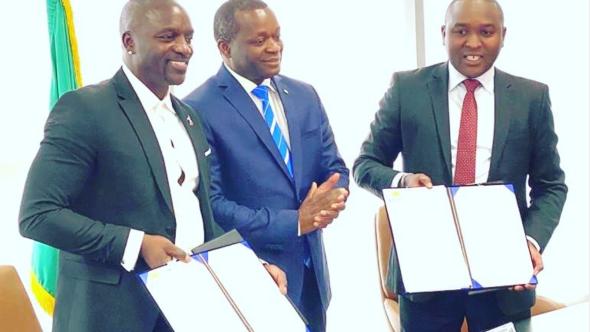Akon City Senegal Akoin