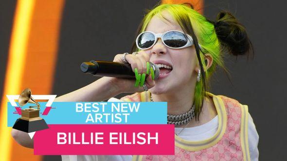 Best New Artist BIllie Eilish Grammy Awards 2020