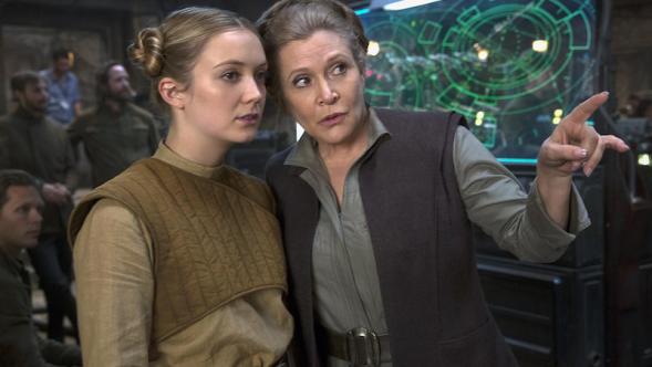 Billie Lourd Carrie Fisher Princess General Leia Star Wars The Rise of Skywalker
