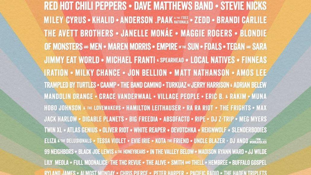 BottleRock 2020 lineup