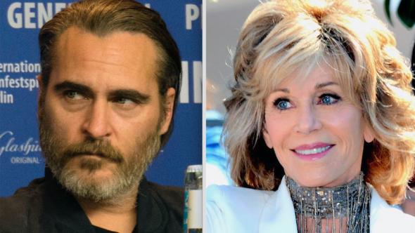 Jane Fonda rally Joaquin Phoenix news Maggie Gyllenhaal, Martin Sheen, climate change rally Washington capitol