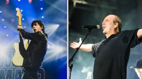 James Bond score No Time to Die Johnny Marr (photo by Ben Kaye) and Hans Zimmer (photo by Philip Cosores)