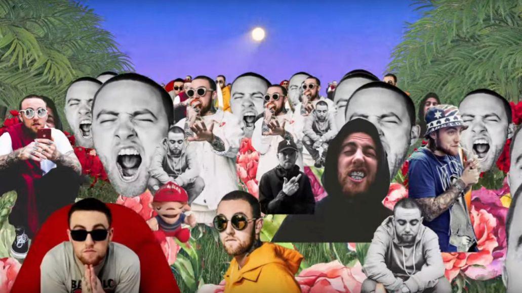 "Mac Miller's video for ""Good News"""