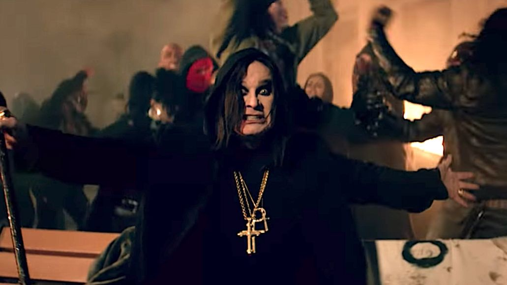 Ozzy Osbourne Straight to Hell video