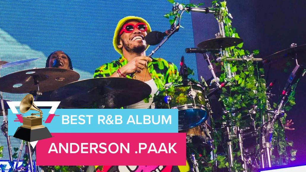 R&B best album anderson paak grammys 2020