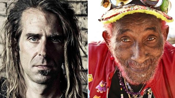 Randy Blythe and Lee Scratch Perry Saudade song