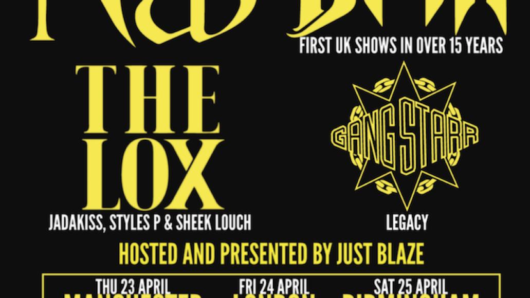 gods rap Gods of Rap Tour returns with Nas, DMX, Gang Starr, and The Lox