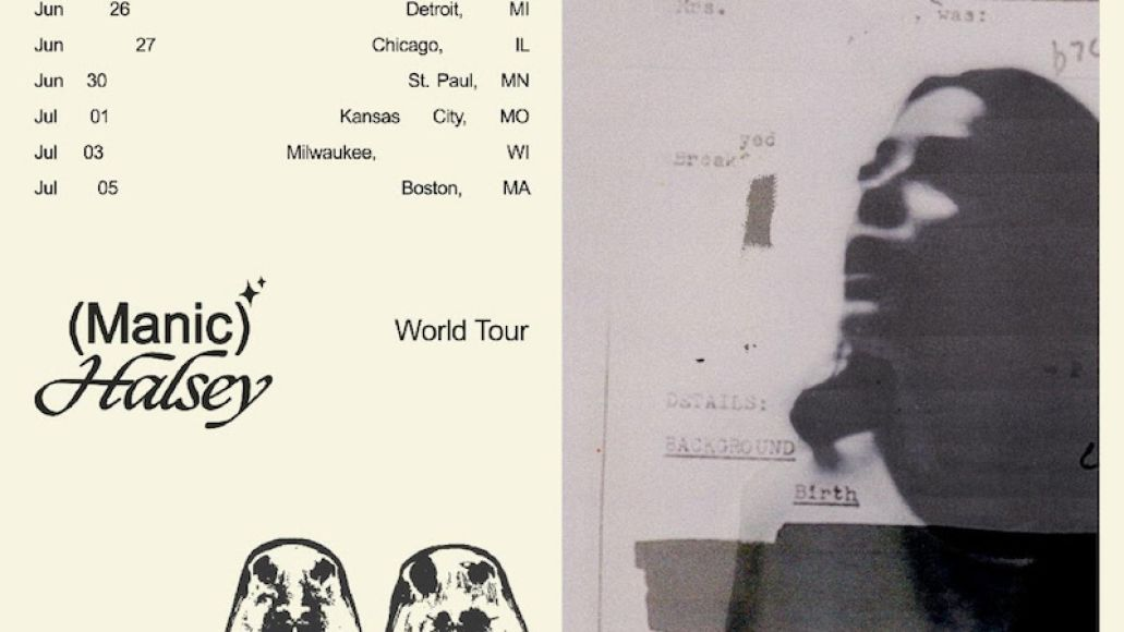halsey manic world tour dates buy tickets Halsey announces North American Manic Tour, CHVRCHES to open