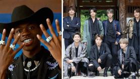 Lil Nas X BTS grammys 2020 performance collaboration