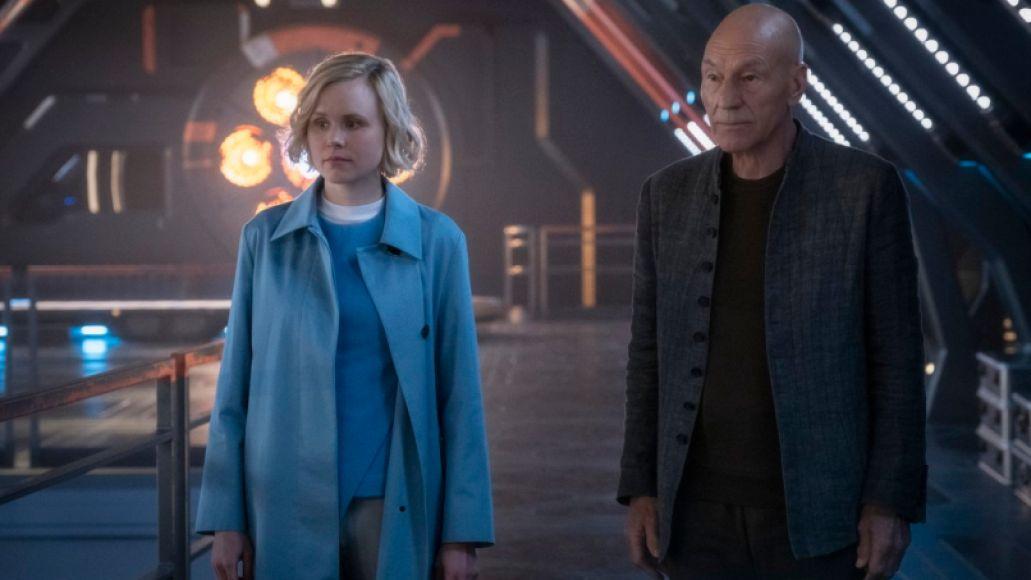 Allison Pill, Patrick Stewart, Picard Review