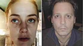 Amber Heard Johnny Depp Hit Hitting Admits Violence Domestic Assault
