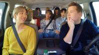 BTS Carpool Karaoke late late show james corden