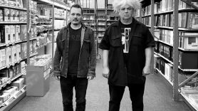 Buzz Osborne and Trevor Dunn, photo by Mackie Osborne