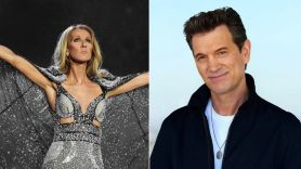 Celine Dion and Chris Isaak