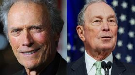Clint Eastwood and Michael Bloomberg