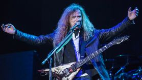 Megadeth Dave Mustaine cancer-free