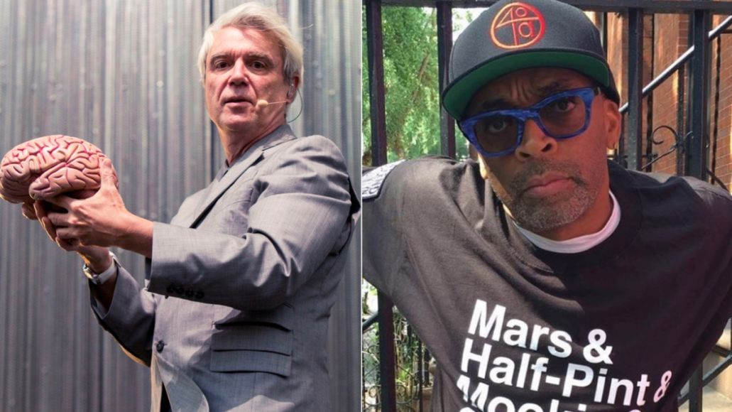 David Byrne and Spike Lee