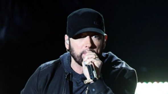 Eminem performs at 2020 Academy Awards