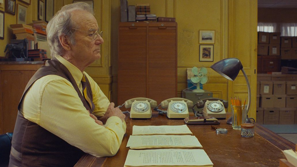 Bill Murray in The French Dispatch (Searchlight Pictures)