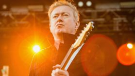 Gang of Four's Andy Gill, photo by Philip Cosores