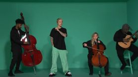 Justin Bieber performs on SNL