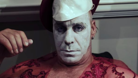 Till Lindemann in Platz Ein music video