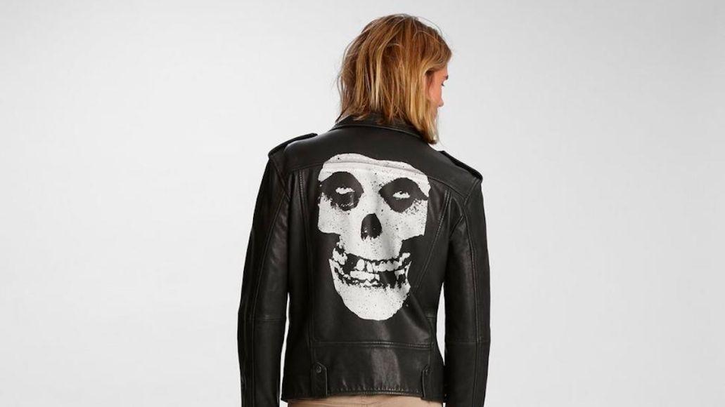 Misfits Leather Jacket by John Varvatos
