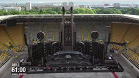 Rammstein Stage Timelapse