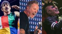 Red Hot Chili Peppers (David Brendan Hall), Metallica (Amy Price), and Tool (Raymond Ahner)