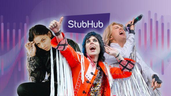 StubHub Trending Lineup