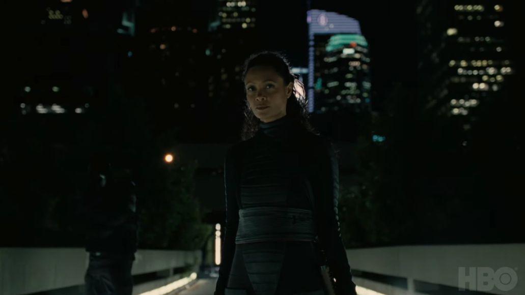 Thandie Newton in Westworld