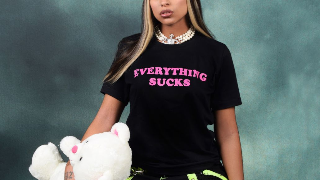 everything sucks princess nokia album artwork cover Princess Nokia Announces Two New Albums, Everything is Beautiful and Everything Sucks