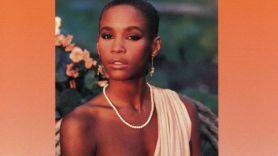 Whitney Houston self-titled album cover artwork