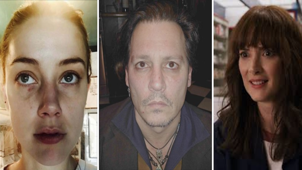 Amber Heard Johnny Depp and Winona Ryder Abuse Allegations